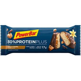 PowerBar ProteinPlus 30% Bar Box 15x55g, Caramel Vanilla Crisp